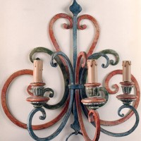 Article 8013 Large Forged Sconce