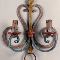 Article 8031 Forged Sconce