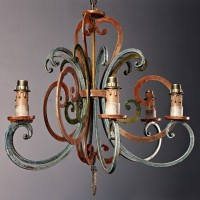 Article 8031 Wrought Iron Chandelier