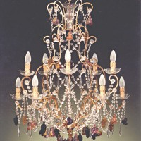 Article 81169:10 Chandelier with Crystal Fruit