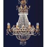 Article 8611 8 Light Empire Chandelier