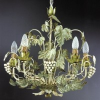 Article 8746 Chandelier with Grapes