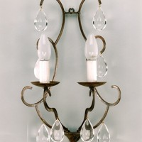Article 90 Sconce with 2 Lights