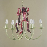 Article 91 6 Light Bow Chandelier