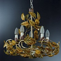 Article 9141 Chandelier with Lemons