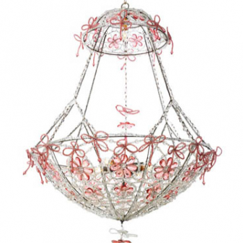 Basket Chandelier 27 inches x47 inches