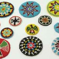 Beaded Crafting Rosettes