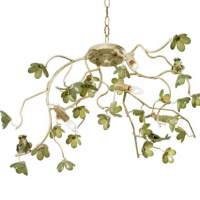 Bird and Blossom Ceiling Mount 34 inches x 20 inches