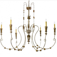 Bordeaux Chandelier 54.5 inches x 47 inches