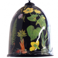 Botanical Bell Jar Light