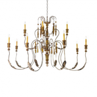 Bretagne Chandelier 55 inches x 42 inches