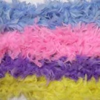 Bright Colors Feather Boas