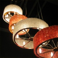 Carosse Beaded Round Suspension, detail