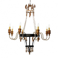 Chateau Chandelier 30 inches x 36 inches