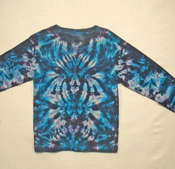 Children's Long Sleeve Tie Dye T Shirt