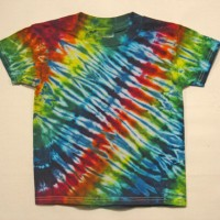 Children's Short Sleeve Tie Dye Shirt