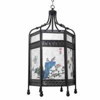 Chinese Flower Pavilion Chandelier 15inches x 29inches