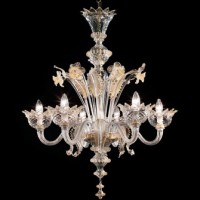 Classic Toso Murano Chandelier