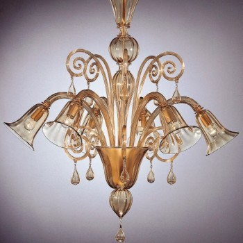 Collection 1060 Murano Chandelier