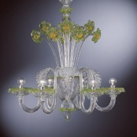 Collection 107 Murano Chandelier