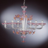 Collection 108 Murano Chandelier