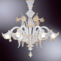 Collection 109 Murano Chandelier