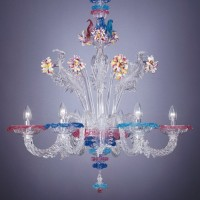 Collection 124 Murano Chandelier