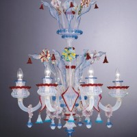 Collection 170  Murano Chandelier