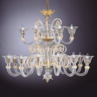 Collection 2050 Murano Chandelier