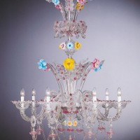 Collection 2080 Murano Chandelier