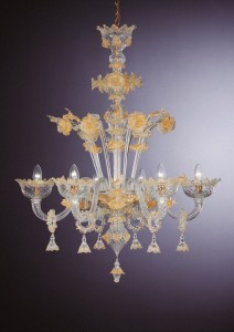 Collection 800 Murano Chandelier