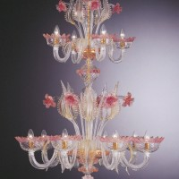 Collection 802  Murano Chandelier