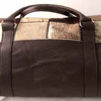 Cow Hide Luggage Bag