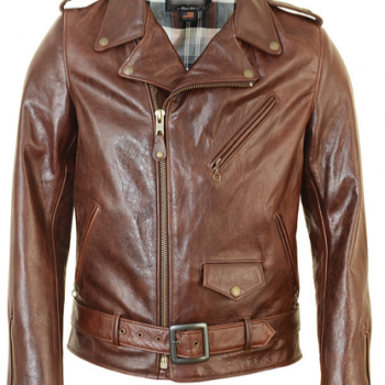 Cowhide Fitted Motorcycle Jacket