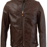 Cowhide Leather Racer Jacket