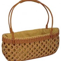 Cross Woven Bag