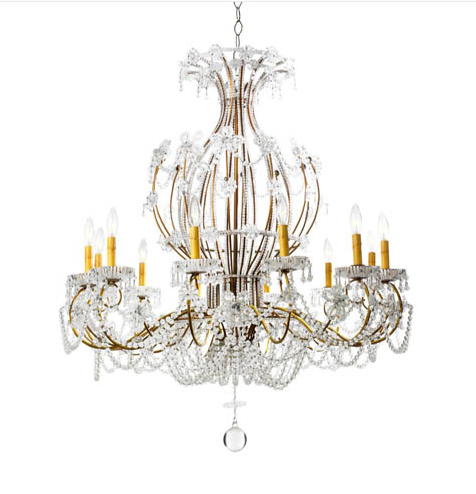 D'Orsay Chandelier 39 inches x 43 inches