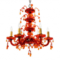 Droplet Chandelier 20 inches x 21.5 inches