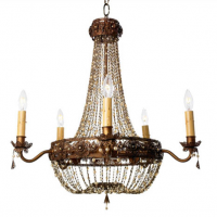 Filigree Chandelier 20 inches x 25 inches