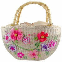 Flower Basket Purse