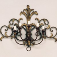 Forged 5 Light Sconce