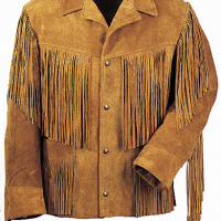 Fringe Leather Jacket
