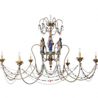 Goddess Chandelier 55 inches x 35 inches