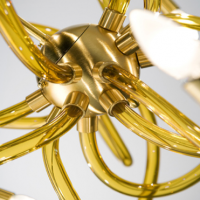Golden Morning Murano Chandelier
