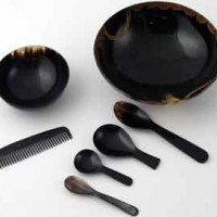 Hand-Carved Horn Accessories