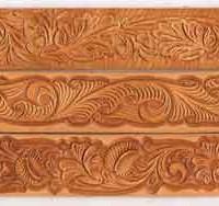 Hand-Carved Leather Belts