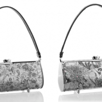 Hand Hammered Aluminum Purses, detail