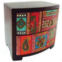 Hand Painted Wood Drawers 7 inches x6.25 inches