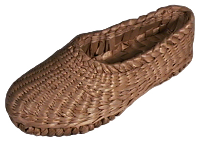 Hand-Woven Straw Shoes