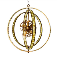 Hemisphere Ceiling Light 20 inches x 22 inches
